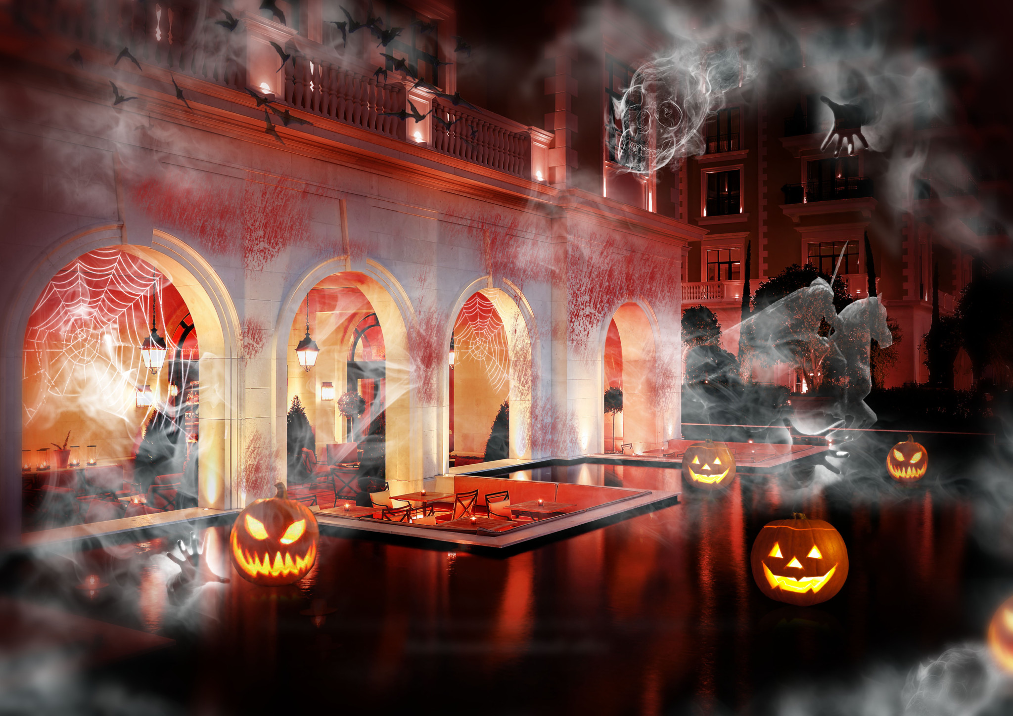 halloween party regent hotel porto montenegro