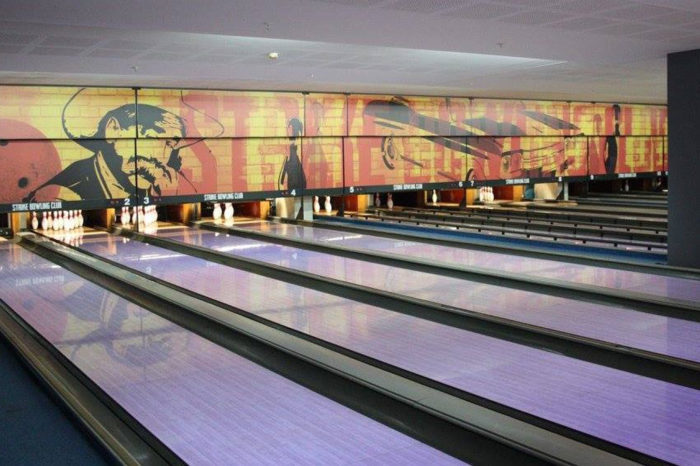 Bowling. Visit a bowling alley armed with a steady gaze of a shooter!