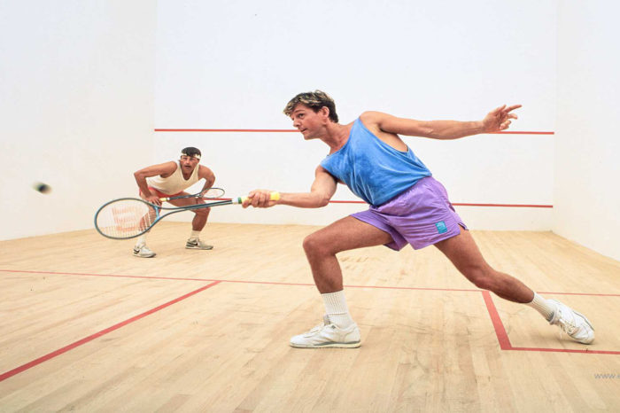 Squash A game where you always win