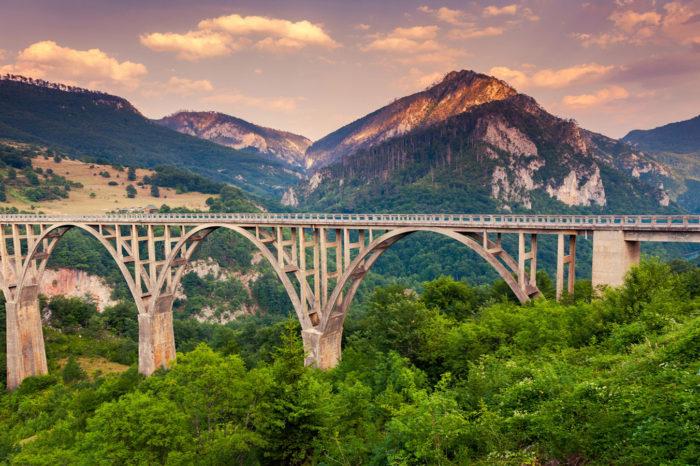 Bridges in Montenegro