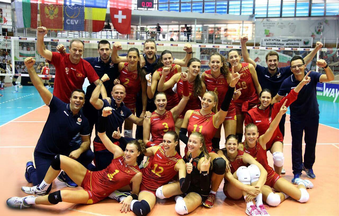 Volleyball Montenegro Women Team