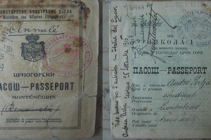 Montenegro passports