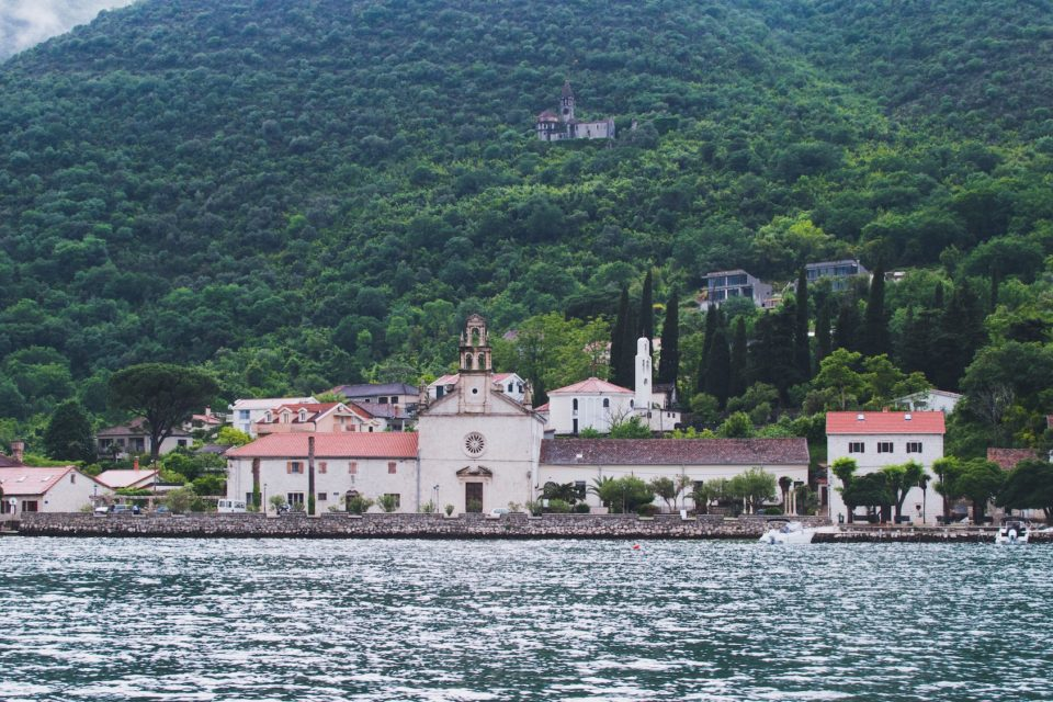 Small places and villages in Montenegro