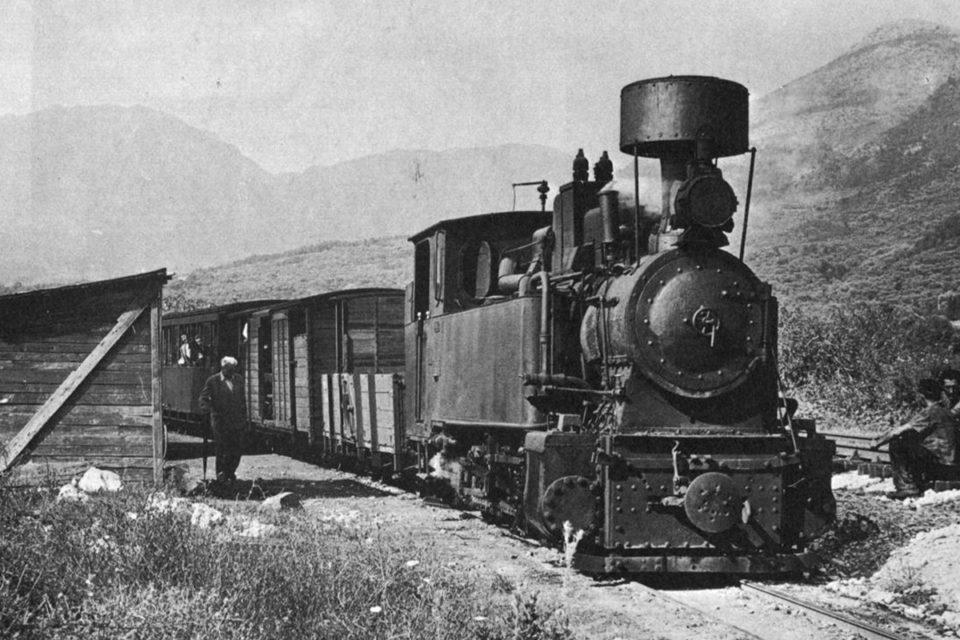 The First Montenegrin Railway   Bar - Virpazar Line