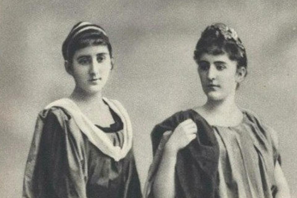 Princesses Milica and Anastasia of Montenegro