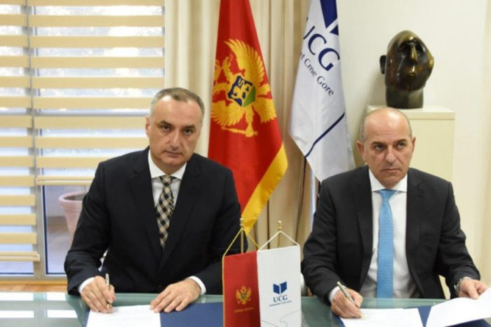 The University of Montenegro Signed a Cooperation Agreement With the University of Albania
