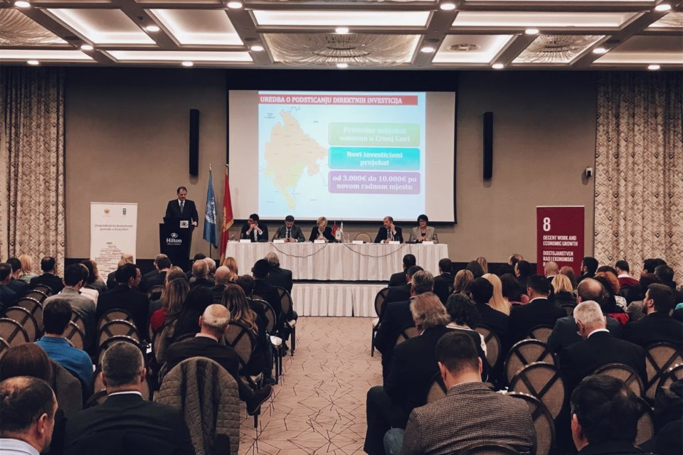 Business Caravan Was Held in Podgorica