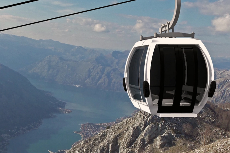 Italian Company the Only Qualified Bidder for the Construction of the Kotor – Cetinje Cableway