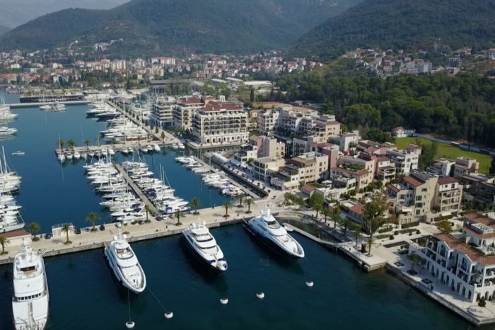 Inspired by Porto Montenegro, new residential project in the Middle East