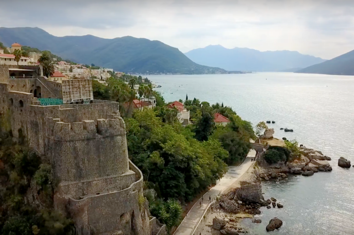 Herceg Novi - a town of stairs, fortresses and mimosa